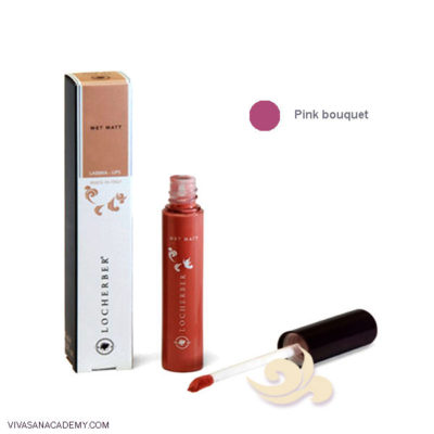Liquid Lipstick Wet Matt Locherber - Pink Bouqet